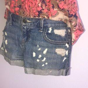 Forever Twenty One Jean Shorts